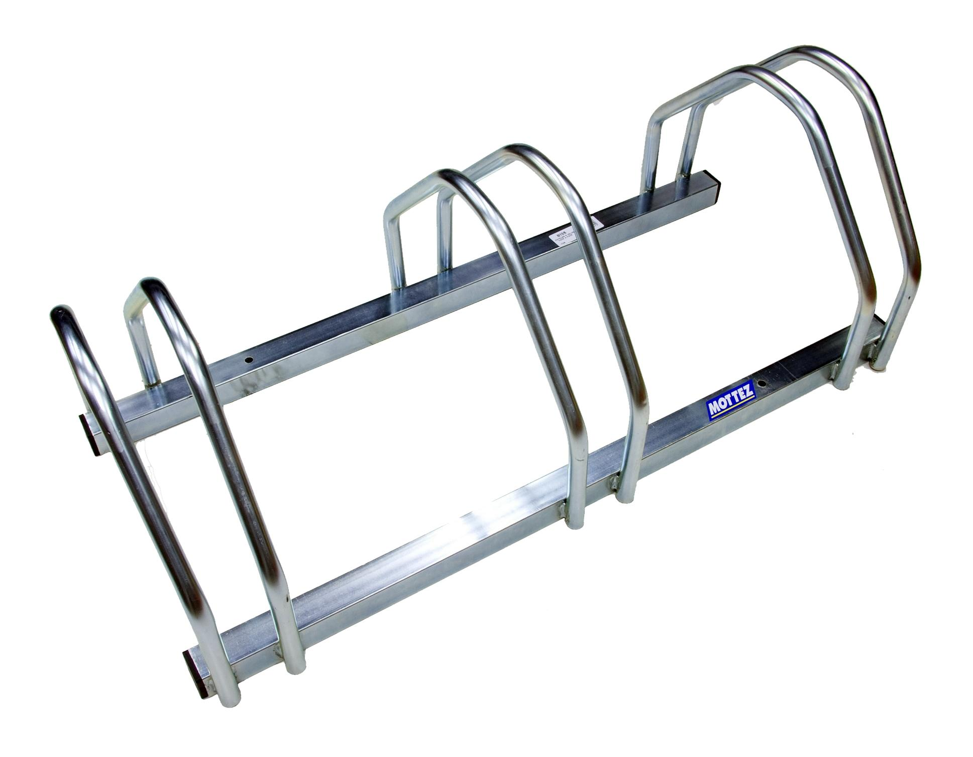 Charming Mottez 3 Bike Floor Rack