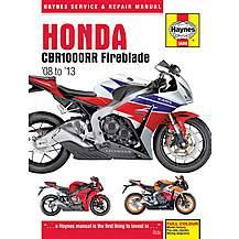 image of Haynes Honda CBR1000RR Manual