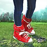 Red Festival Feet