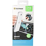 image of Tetrax Smart Universal In-Car Phone Holder - Black