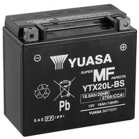 Yuasa YTX20L-BS Powersport Motorcycle Battery