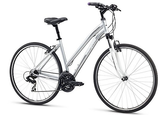 Mongoose Crossway Sport Womens Hybrid Bike
