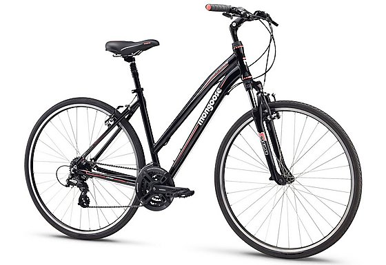 Mongoose Crossway Comp Womens Hybrid Bike