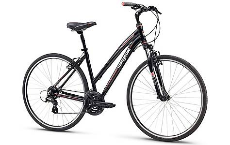 image of Mongoose Crossway Comp Womens Hybrid Bike
