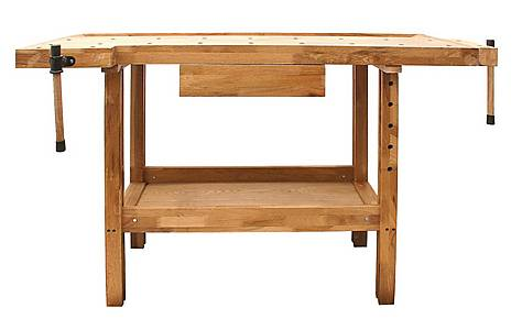 image of SIP Professional Oak Woodworking Bench