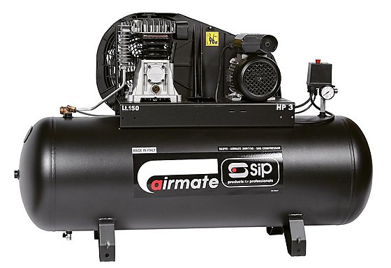 SIP Airmate 3HP/150-SRB Air Compressor
