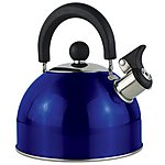 image of 2 Litre Metallic Whistling Kettle Blue