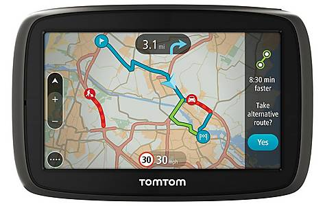 "image of TomTom GO 40 4.3"" Sat Nav with Lifetime Traffic & maps of Western Europe"
