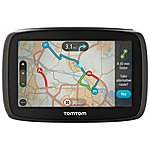 "image of TomTom GO 40 4.3"" Sat Nav with Lifetime TomTom Traffic & maps of Western Europe"