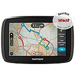 """image of TomTom GO 40 4.3"""" Sat Nav with Lifetime Traffic & maps of Western Europe"""