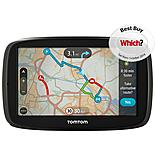 "TomTom GO 50 5"" Sat Nav with Lifetime TomTom Traffic & Maps of Europe"