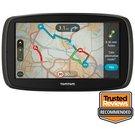 "image of TomTom GO 60 6"" Sat Nav with Lifetime TomTom Traffic & Maps of Europe"