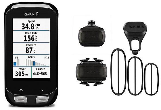 Garmin Edge 1000 GPS Bike Computer Performance Bundle