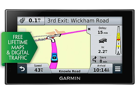 Garmin Nuvi 2569LMT-D UK, ROI & Western Europe 5