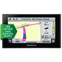 "Garmin nuvi 2569LMT-D 5"" Sat Nav with UK, Ireland & Western Europe Lifetime Maps and Traffic"
