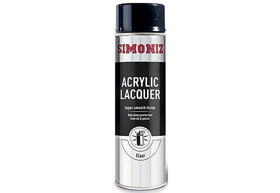 Simoniz Clear Acrylic Laquer 500ml