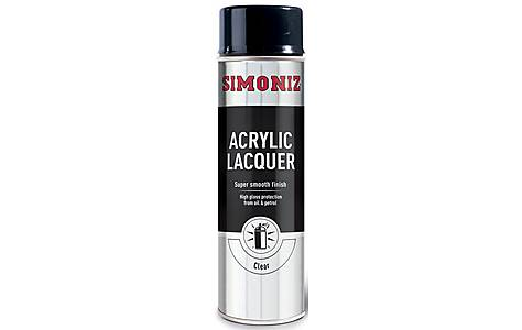 image of Simoniz Clear Acrylic Laquer 500ml