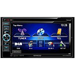 "image of Kenwood DDX4025DAB 6.1"" Double Din DVD/CD/DAB/Bluetooth/Ipod/USB Car Stereo"