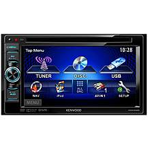 "image of Kenwood DDX3025 6.1"" Double Din DVD/CD/Ipod/USB Car Stereo"