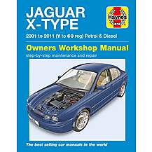 image of Haynes Jaguar X Type Petrol & Diesel (01-11) Manual