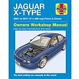 Haynes Jaguar X Type Petrol & Diesel (01-11) Manual