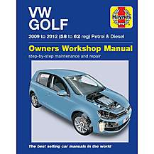 image of Haynes VW Golf Petrol & Diesel (09-12) 58 ? 62 Manual