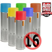 Halfords Ford Moondust Silver Car Spray Paint 300ml