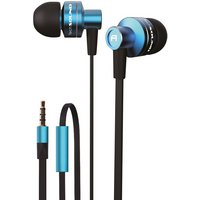 TechSound High Performance Earphones - Blue