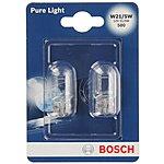 image of Bosch 580 W21/5W Car Bulbs x 2