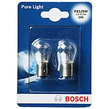 image of Bosch 380 P21/5W Car Bulbs x 2