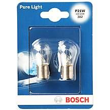 image of Bosch 382 P21W Car Bulbs x 2