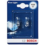 image of Bosch 501 W5W Car Bulbs x 2