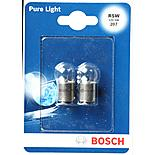 Bosch Car Side/Tail Lights & Number Plate Bulbs 207 x 2