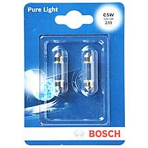 image of Bosch Car Interior & Number Plate Bulbs 239 x 2