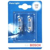 Bosch Car Interior & Number Plate Bulbs 239 x 2
