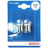 Bosch Car Side/Tail & Number Plate Bulbs 245 x 2