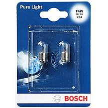 image of Bosch 233 T4W Car Bulbs x 2