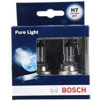 Bosch Car Headlamp Bulbs 477 H7 x 2