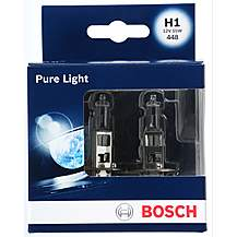 image of Bosch 448 H1 Car Bulbs x 2