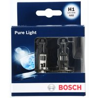 Bosch Car Headlamp Bulbs 448 H1 x 2