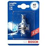 image of Bosch 477 H7 Longlife Car Bulb  x 1