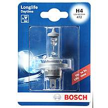 image of Bosch 472 H4 Longlife Car Bulb  x 1