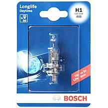 image of Bosch 448 H1 Longlife Car Bulb  x 1
