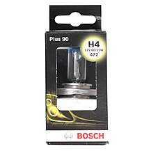 image of Bosch 472 H4 Plus 90 Car Bulb  x 1