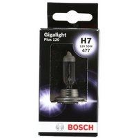 Bosch Car Headlamp Bulb Gigalight Plus 120 477 H7 x 1