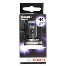 image of Bosch Car Headlamp Bulb Gigalight Plus 120 472 H4 x 1