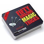 image of 50 Amazing Magic Tricks Tin