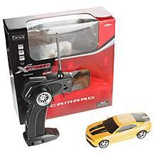 image of Chevrolet Camaro Remote Control Car 1.32 Scale - Yellow