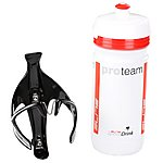 image of Elite Sior Evo Carbon Bottle Cage and Bottle