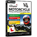 image of DTS The Complete Motorcycle Theory and Hazard Perception Tests 2014/15